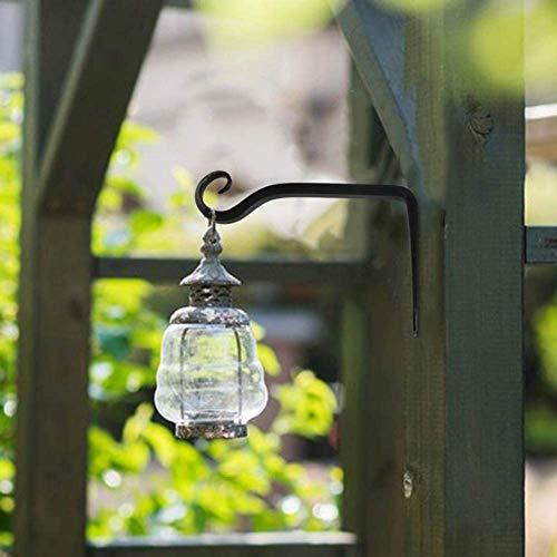 Dproptel  Confezione da 2 ganci da appendere per vasi di fiori e lanterne per interni ed esterni
