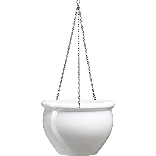 Emsa 512667 Siena Nobile  Vaso da Appendere 7 L Colore Bianco Perla