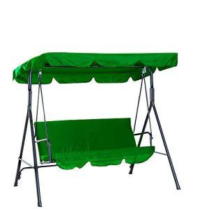 Enmayode  Tettoia universale di ricambio per sedia a dondolo copertura per patio amaca giardino esterno