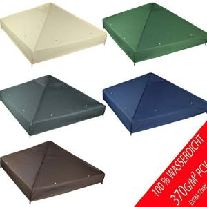 Freartende  Tetto di Ricambio per Gazebo 3 x 3 m Impermeabile Materiale Panama PCV Soft 370 GM2 Modello 2