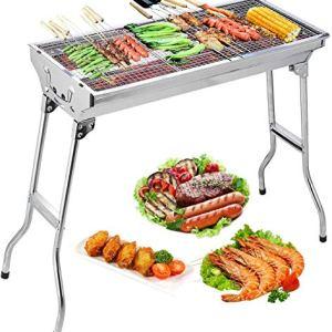 Uten Barbecue Griglia a Carbone Professionale per 510 Persone Barbecue Carbone Barbecue Pieghevole per BBQ Utensile BBQ Grill Giardino Terrazza Campeggio Picnic