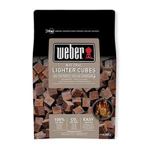 Weber 17612  Cubetti accendifuoco 48 pastiglie sul marrone