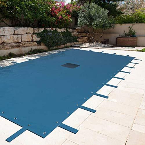 Telone rettangolare per piscine 6x 10m con rete di drenaggio centrale copertura piscinatelone impermeabile