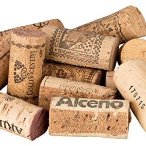 100Tappi vino da taglio usato per la costruzione della Bacheca  Sughero sughero bottiglia in bottiglie di vino gi tagliato ideale per creare e decorare costruzione di una bachecaFai da te