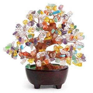 152 cm Feng Shui Avventurina Gem Stone Money Tree Natural Green Crystal Money Tree Ufficio Soggiorno Good Luck Decorazione Style E