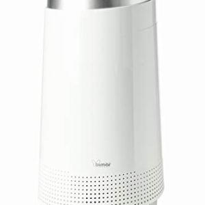 Bimar Purificatore dAria Smart con WiFi e App Elevata Purificazione Filtro HEPA Ionizzatore Super Silenzioso Casa Elimina Polvere Allergie Odori Fumo Acari Batteri Peli Animali Polline