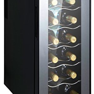 CAMRY CR8068  Frigorifero per Vino 12 Bottiglie 1 cm Basso consumo energetico