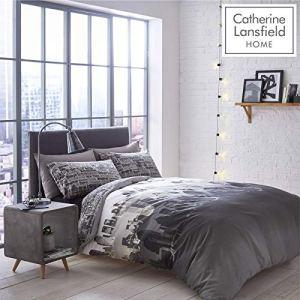Catherine Lansfield Set Biancheria da letto in Policotone Singolo 135 x 200 cm