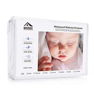 Coprimaterasso Impermeabile 60 x 120 cm Proteggi Materasso Impermeabile Traspirante Anallergico Antibatterico Singolo Letto Sanitario Copri Materassi con Trattamento