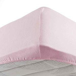 Douceur DIntrieur   1641300 Lenzuolo Con Angoli Singolo  90 X 190 Cm  Jersey Uni  Jersey Unito  Rosa
