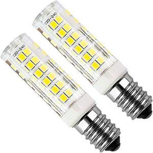 Lampadina LED E14 Kakanuo 5W Equivaleni a 50W Bianco Freddo 6000K 450LM Cappa da Cucina LED NonDimmerabile AC220240V Piccola vite di Edison 2Pezzi