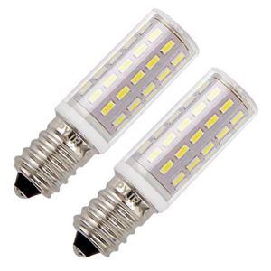 Lampadine per cappa cucina PYJR E14 5W equivalente di lampadine alogene da 50W AC100240V Bianco Freddo 6000K senza sfarfallio Confezione da 2