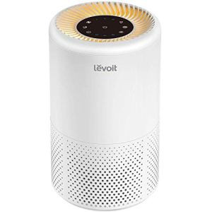 Levoit Purificatore dAria Casa Hepa360 Filtrazione AriaRisparmia Consumo Elettricit100 Senza OzoneAnioneLuce Notturna AranciaTimerModalit Sonno 25 dB per FumiAnimali DomesticiPolveri
