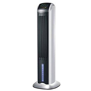 PURLINE RAFY 81 Raffrescatore evaporativo con funzione Ionizzante display a LED 70 W nero e argento