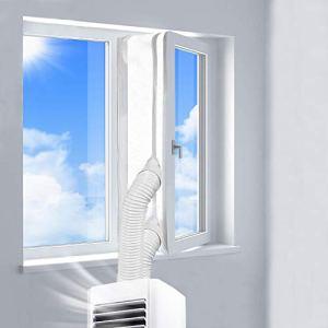 REDTRON 400CM Guarnizione Universale per Finestre per Condizionatore Portatile Asciugatrice AirLock per Tutti Condizionatori Portatili  Hot Air Stop  Facile da Installare