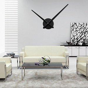 URAQT Orologio da Parete Moderno Modern Wall DIY 3D Orologio da Parete per Casa Ufficio Hotel Ristorante
