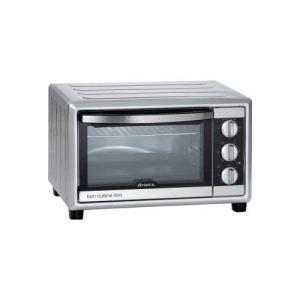 Ariete 985 Bon Cuisine 300  Forno elettrico ventilato Dimensioni interne 355x305x275 mm 30 Litri 1500W 6 posizioni cottura Timer 60 Silver