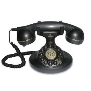 Brondi Vintage 10 Telefono Fisso Nero