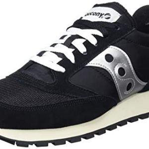 Saucony Jazz Original Vintage Sneaker Unisex  Adulto Nero BlackWhite 10 44 EU