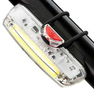 Apace Illuma ZT3000 Luce Anteriore USB Ricaricabile per Bicicletta  POTENTE Fanale Anteriore LED per Bici Super Luminoso per una Sicurezza Ottimale in Bicicletta  Durata fino a 12 Ore  Impermeabile