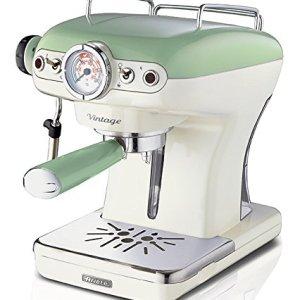 Ariete 1389 Caff Espresso Vintage  Macchina per caff Espresso per polvere o cialda ESE in colore Verde pastello
