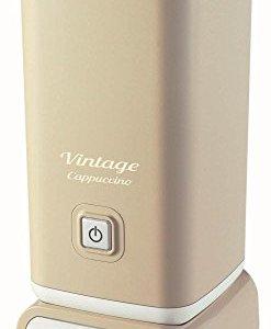 Ariete 2878 Cappuccinatore Vintage  Montalatte per cappuccino t cioccolata calda e fredda infusi liofilizzati 500 watt in colore Beige pastello