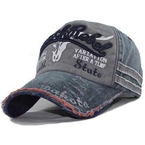 CheChury Berretto da Baseball Uomini Vintage Cappello con Visiera Unisex HipHop Cappellini Traspirante Snapback Trucker Hat Donne Casuali Moda Sun Hat