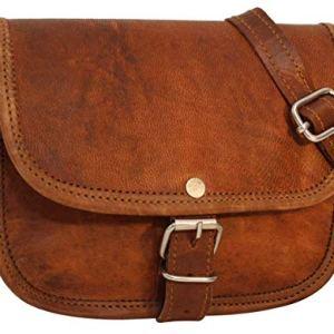 Gusti nature  Borsa a tracolla in vera pelleMary borsa da donna piccola borsetta in stile vintage XS