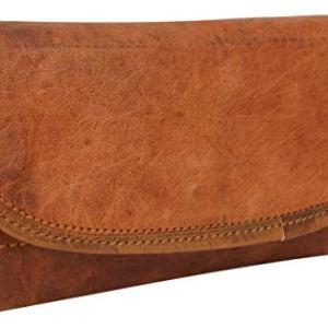 Portafoglio Gusti Leder nature  Portafoglio in vera pelleEmma portafoglio portamonete portacarte da donna in stile vintage in vera pelle marrone