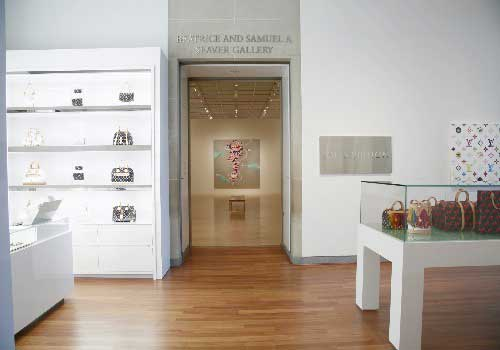 Louis Vuitton temporary store Brooklyn Museum