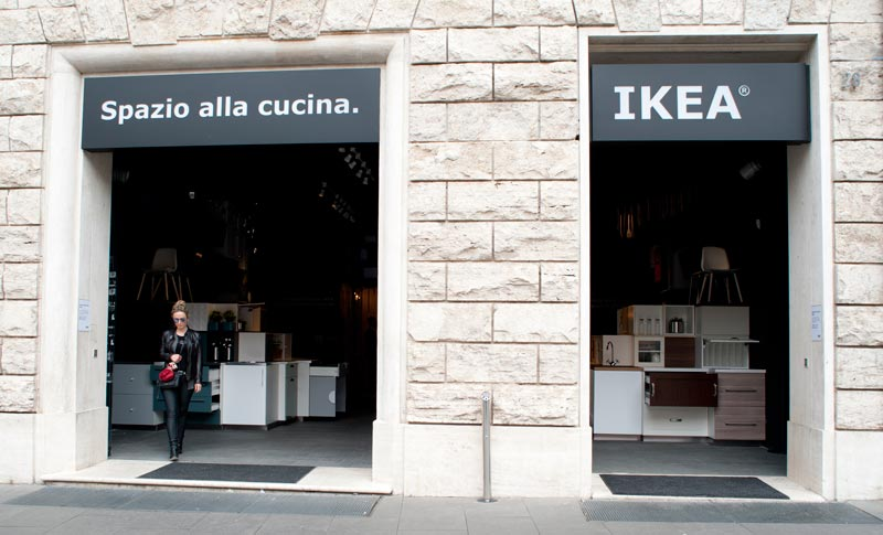 The First Ikea Italian Pop Up Store In Rome An