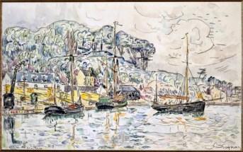 04. Signac_Riviäre de Morlaix (22 juin 1929)
