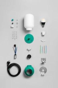 Form Us With Love: la lampada Plug scomposta