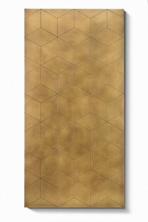Mosaico Panel _Engraving Délabré brass