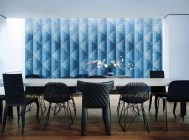 Bisazza Mosaico_Pyramid Blue_design by Marcel Wanders