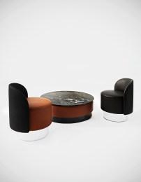 Pastilles design by StudioPepe per Tacchini