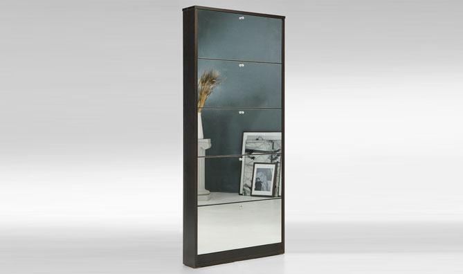 asso shoe rack premium mirror