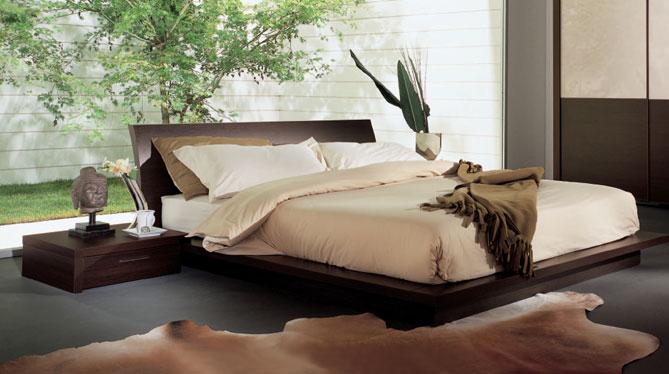 lit bahia avec cadre de lit zen