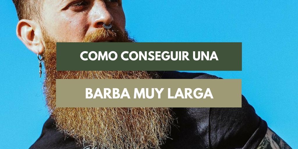 barba muy larga