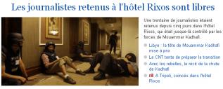 Hôtel Rixos - LeMonde.fr - 24/08/11