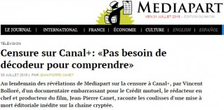 Mediapart Bolloré