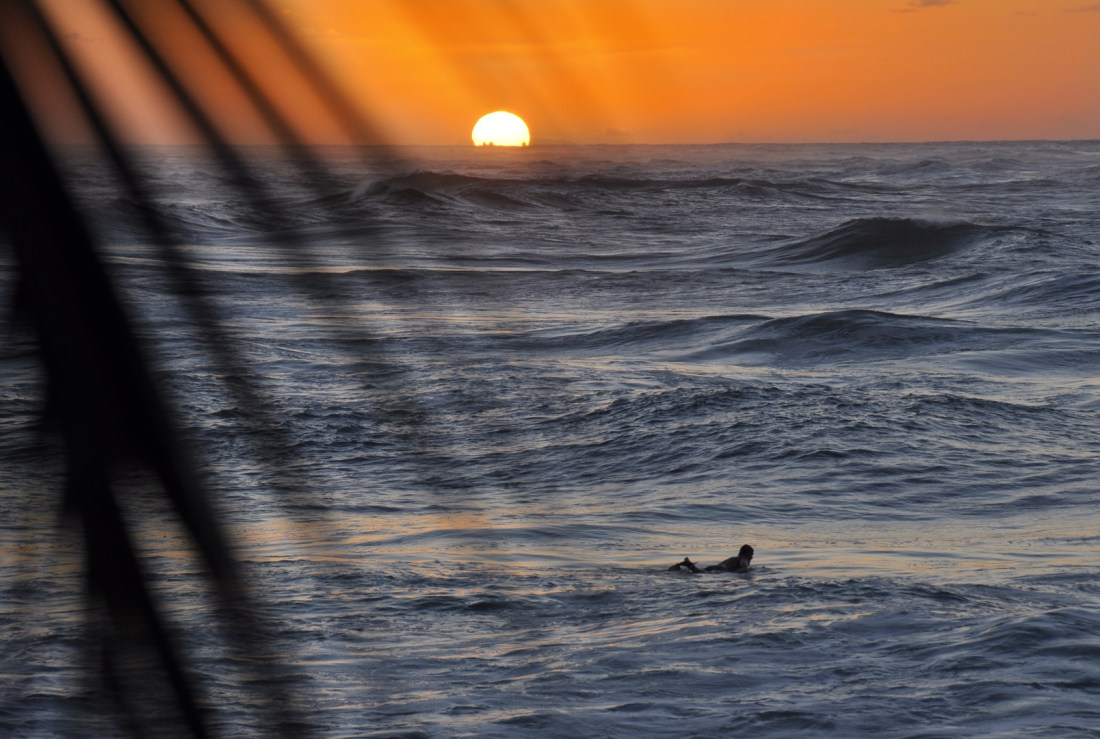 The sunsets at Turtle Bay are worth a visit alone. Credit: Curt Woodhall