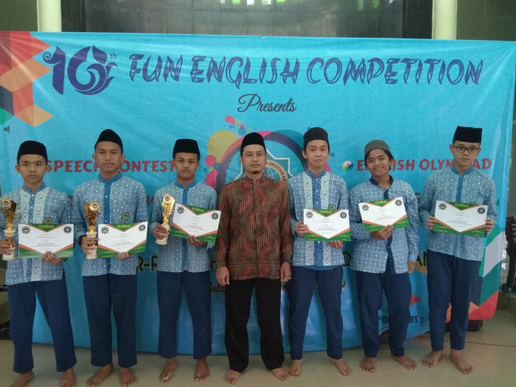 Fun English Competition In SMP Ar Rohmah Boarding School