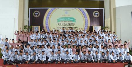 wisuda smp sma arrohmah putra 2019 22