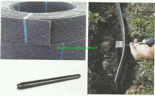 construire son bassin bordure flexible ecolat