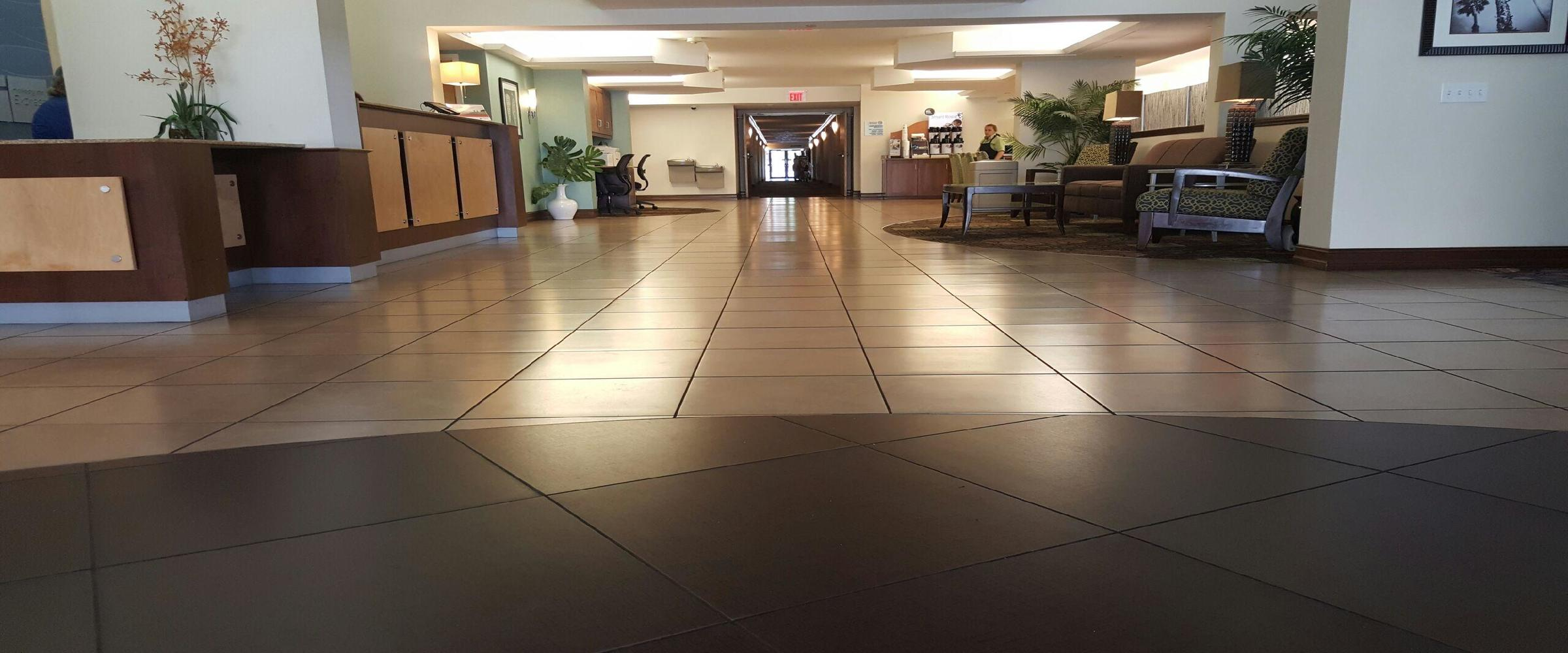 commercial tile grout cleaning