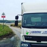 "img src=""Arrow-Couriers-Beach.jpg"" alt=""Arrow Couriers truck by the beach in Wales"""