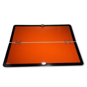 """img src=""""arrow-couriers-adr-plates.jpg"""" alt=""""Arrow Courier Services ADR Orange plate"""""""
