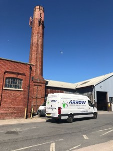 "img src=""Arrow-Couriers-Crafter-Arrow-9-under-comms-chimney.jpg"" alt=""Arrow Courier Services VW Crafter under a communications tower/chimney"""