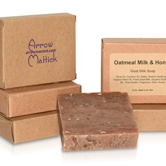Arrow Mattick oatmeal milk and honey goats milk soap